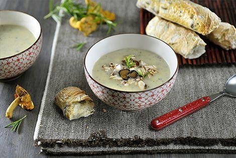 Truffelsoep met aardappel uit de SoupMaker | Philips-Truffelsoep met aardappel uit de SoupMaker | Philips