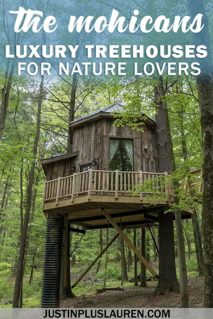 The Mohicans: Luxury Treehouses in Ohio for an Extraordinary