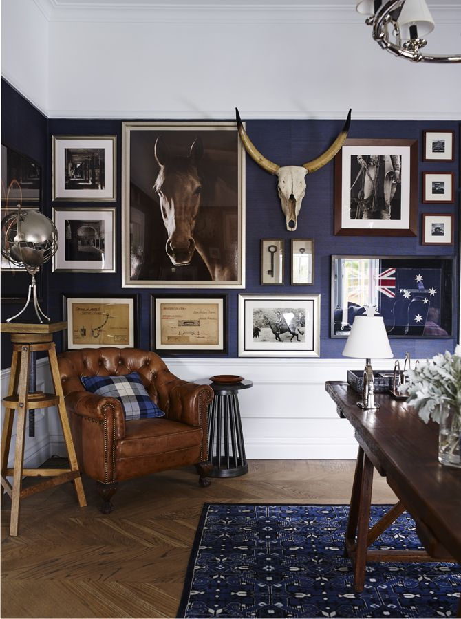 Best 25 Navy Office Ideas On Pinterest Blue Office