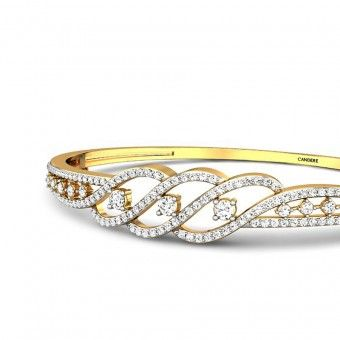 Madeline Diamond Bangle