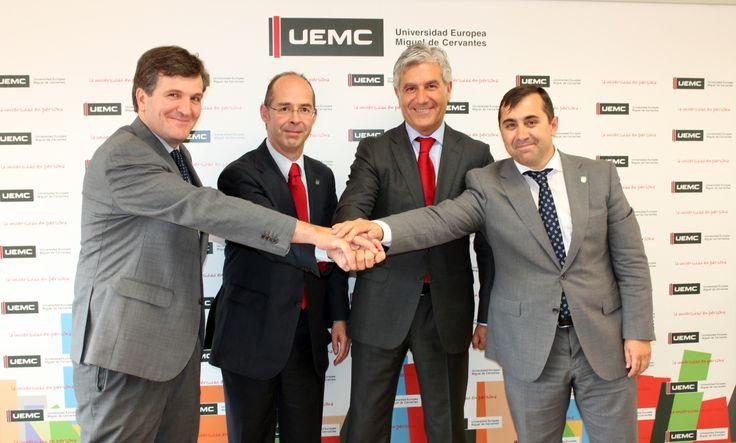 Banco Santander se suma a la actividad de la Cátedra de Empresa Familiar UEMC (11/06/14) http://bsan.es/SzaSoy