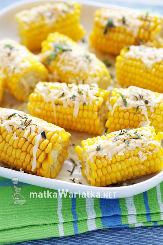 corn with parmesan and herbs