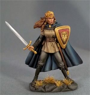 Female Fighter with Long Sword - Easley Masterworks (x1 fig)