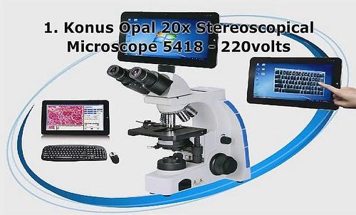 used stereo microscopes