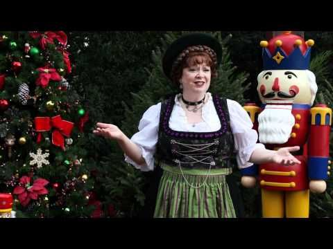 Christmas in Germany presented by EPCOT storyteller Helga