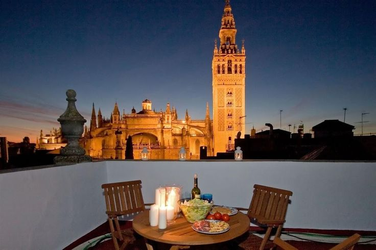 TOWERS TERRACE apartment in Seville, Spain.