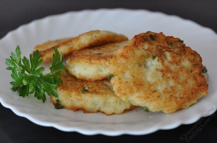 Оладьи из картофеля и кабачков  Кабачок можно готовить самыми разными способами: тушить, запекать, жарить… Время на его приготовлени