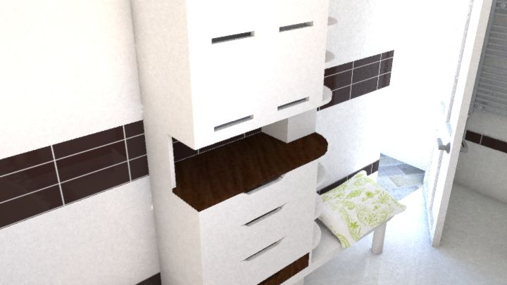 Bathroom furnish plan