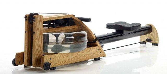 WaterRower - aparat de canotaj original ::: Rezistenta opusa de acesta este naturala, adica cea a apei ::: Finisaje de calitate premium. Made in USA
