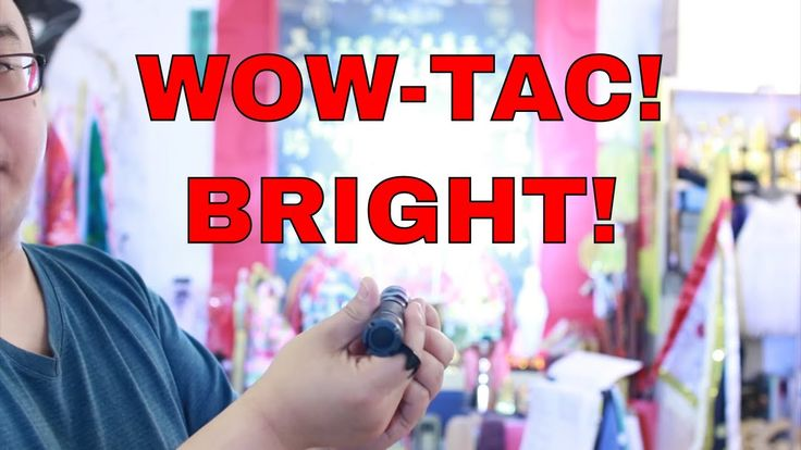 Wowtac A1S BSS - Best Self Defense Tactical Light on a Budget Review