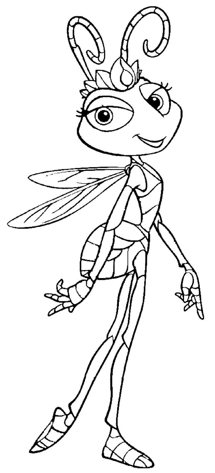 22 best a bug u0027s life coloring pages images on pinterest a bug u0027s