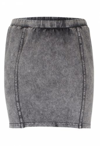 ICHI Klora skirt dark grey - Kjoler/nederdele - MaMilla