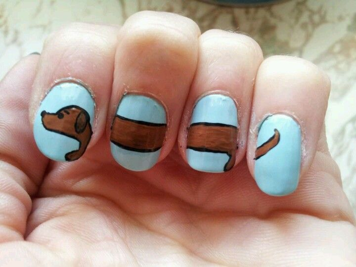 Cute! Easy to use polish pens to draw on your nails.