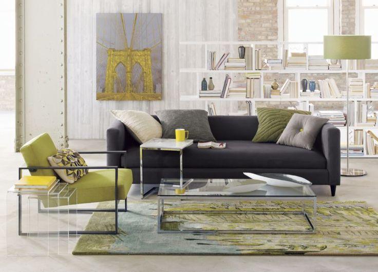 Movie Steel Sofa Cb2 Allmodern Photo Composition