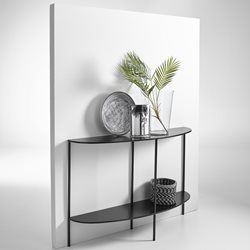 Anya Half-Moon Metal Console Table AM.PM. - Tables & Chairs