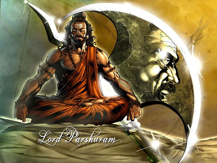 Beautiful God Parshuram Image for free download