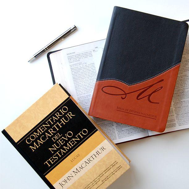 Biblia de Estuidio MacArthur Comentario Biblico del libro de Lucas por John MacArthur