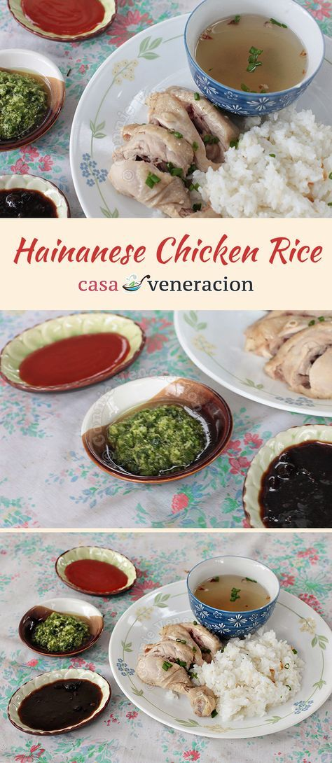 Hainanese chicken rice is almost a national dish in Singapore in much the same way that kaya toast is considered its national breakfast.   casaveneracion.com
