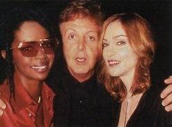 Lauryn Hill, Paul McCartney and Madonna
