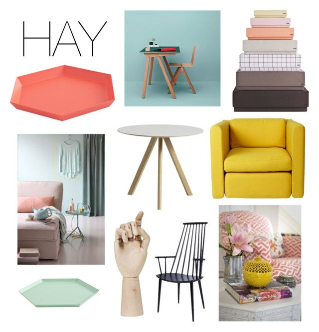 """HAY"" by fridasaaa on Polyvore featuring interior, interiors, interior design, home, home decor, interior decorating, HAY and Wrong for Hay"