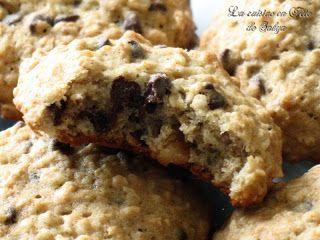 La cuisine en fête de Sakya: Biscuits aux bananes, gruau et chocolat