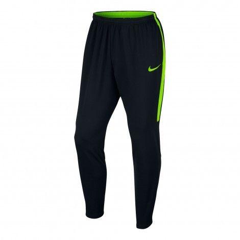 Nike Dry Academy trainingsbroek heren black electric green
