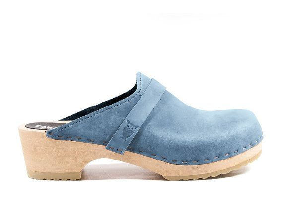 Tokyo Wooden Clogs for Women / Leather Shoes / Sandal Clogs / Mules / Summer  Shoes / Handmade Clogs / Womens Clogs / Sandgrens