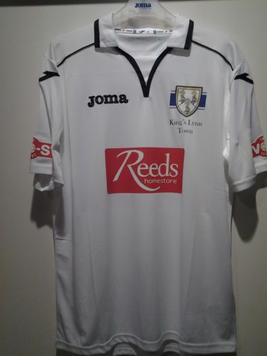 2013/14 Kings Lynn Town FC Away Shirt