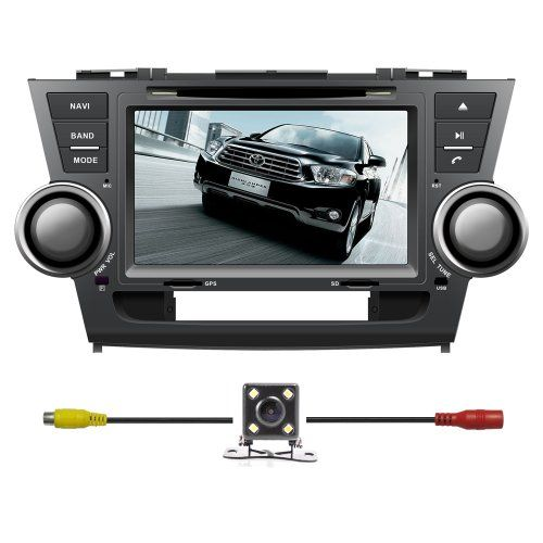 Special Offers - BlueLotus for Toyota Highlander 2008 2009 2010 2011 2012 / Toyota Highlander Hybrid 2008-2012 / Toyota Kluger 2008-2012 In-dash 8 Touchscreen DVD GPS Navigation Tv Radio Bluetooth RDS Sd/usb Ipod Av  Reverse Car Rear Camara  Free USA Map - In stock & Free Shipping. You can save more money! Check It (July 31 2016 at 02:57PM)…