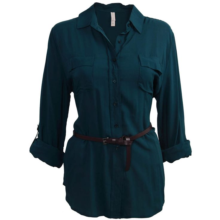 Challis Shirt with Belt | Warehouse One