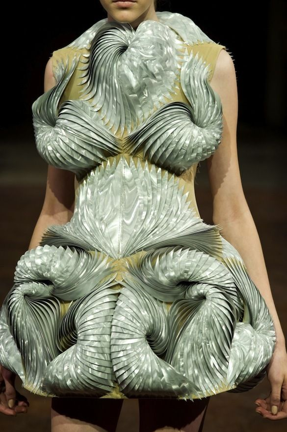 handwork from Fashion Designer Iris Van Herpen | The Creators Project