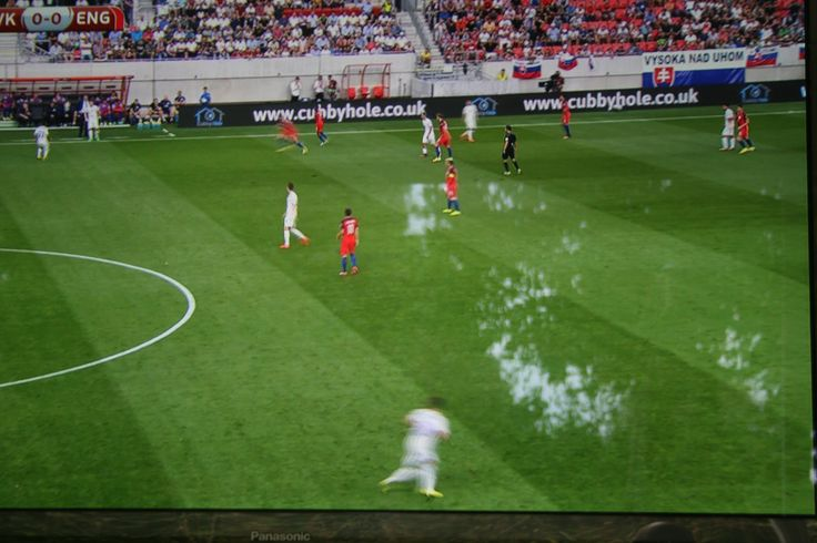 Our advert at the football match. England VS Slovakia on 4th September 2016