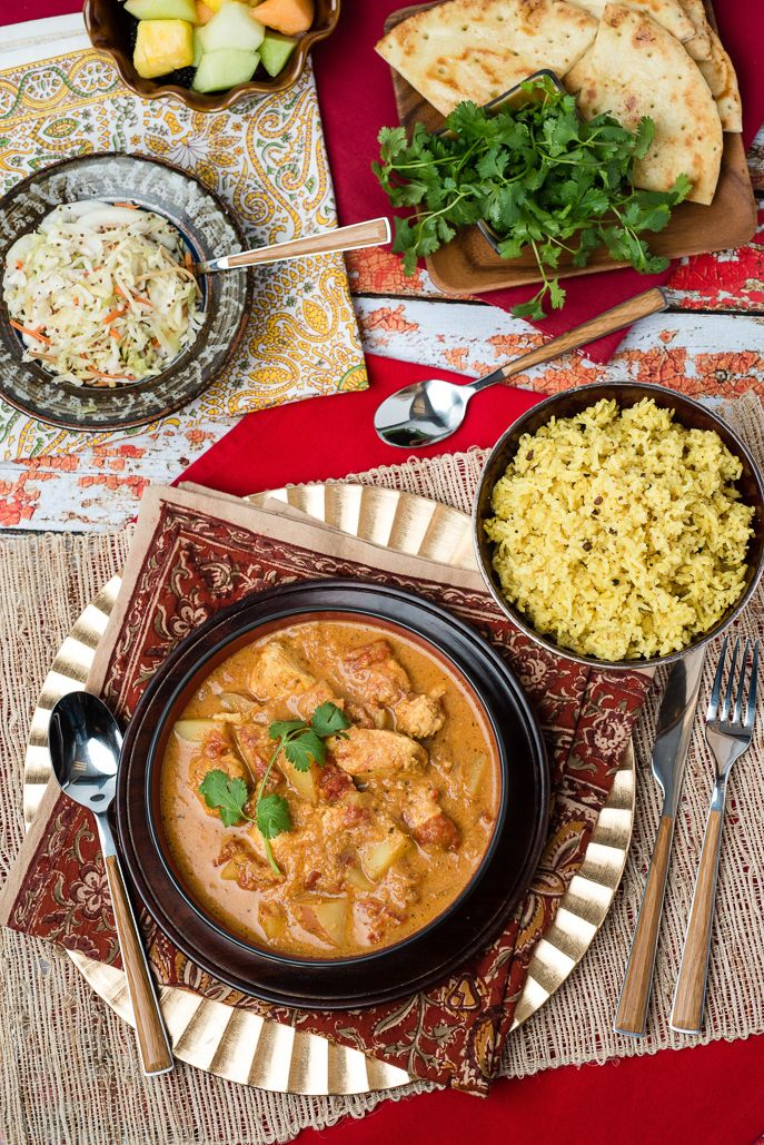 Heritage Dish: Kenyan Chicken Curry and Pilau Rice from Everyday Good Thinking, the official blog of @hamiltonbeach