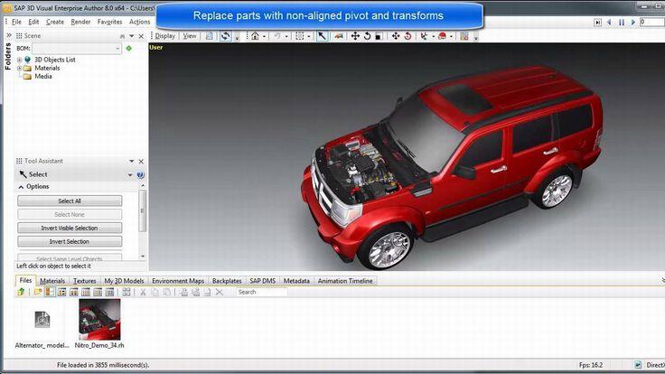 SAP 3D Visual Enterprise Author v8 0 SP5 MP1 - التطبيقات الهندسية