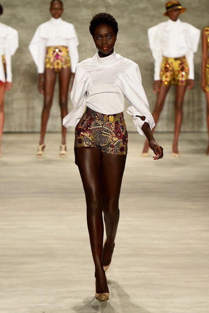 David Tlale - Runway - Mercedes-Benz Fashion Week Spring 2015 ~Latest African Fashion, African Prints, African fashion styles, African clothing, Nigerian style, Ghanaian fashion, African women dresses, African Bags, African shoes, Nigerian fashion, Ankara, Kitenge, Aso okè, Kenté, brocade. ~DK: