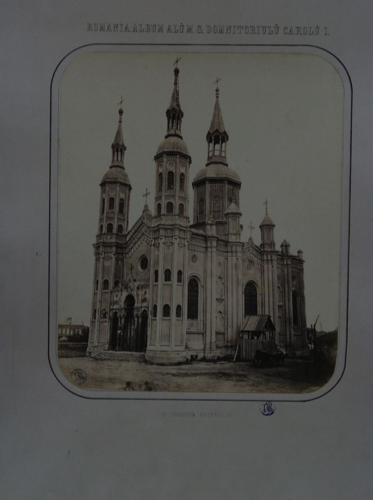 "Carol Popp de Szathmary - ""Saint Spyridon the New"" Church, 1867"