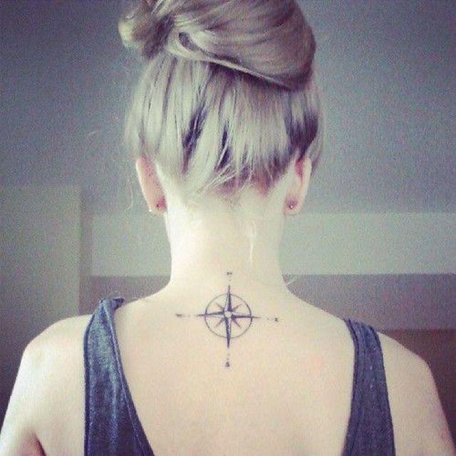25 tatouages pour sublimer sa nuque | Glamour