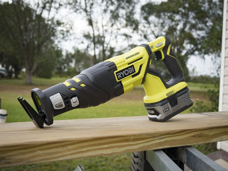 The Ryobi P517 18V One+ Brushless Reciprocating Saw has some upgrades over the last model.  Should Pros consider calling it up to the big leagues?  https://www.protoolreviews.com/tools/power/cordless/saws-cordless/ryobi-p517-brushless-reciprocating-saw/32925/  #Ryobi #One+ #ReciprocatingSaw #Cordless #Brushless