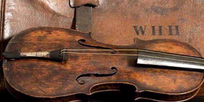 Stanley Roy informa: La historia del violín que sonó durante el hundimi...