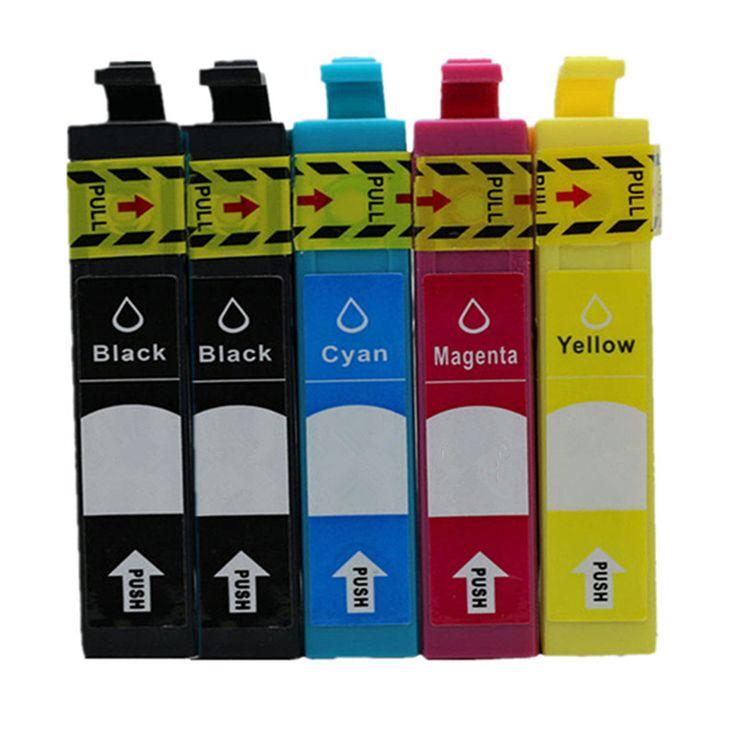 1Set T2621 E-2601 T2631 T2634 Inkjet Ink Cartridges For Epson XP 510 520 600 605 610 615 620 625 700 710 720 800 810 820 Printer #Affiliate