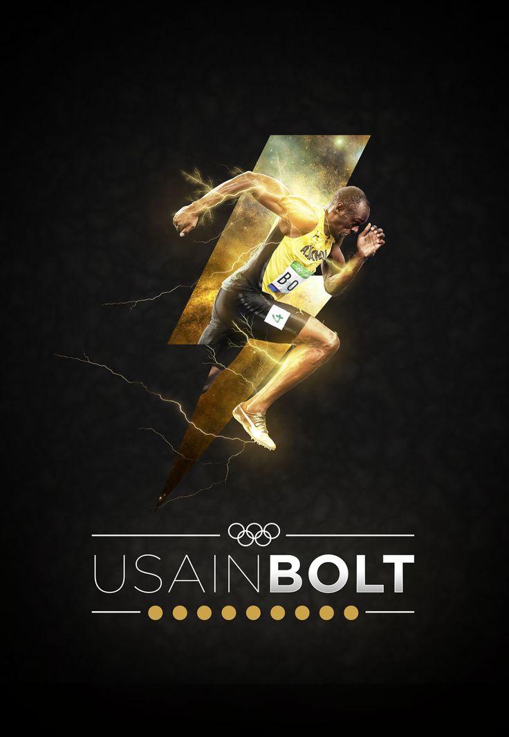 Usain Bolt   Wallpaper on Behance
