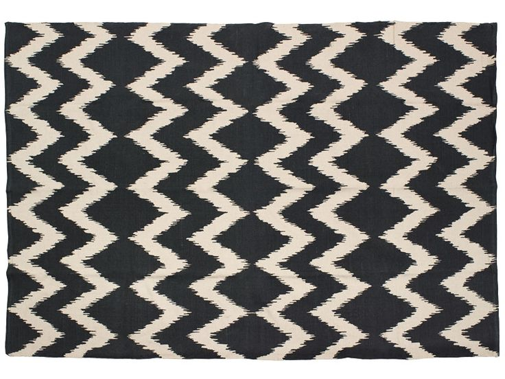 Chevron rug black - $99 Big Save Furniture June 2016