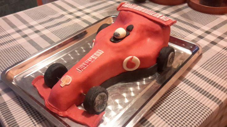 Ferrari F1 torta Ferrari Formula 1 cake