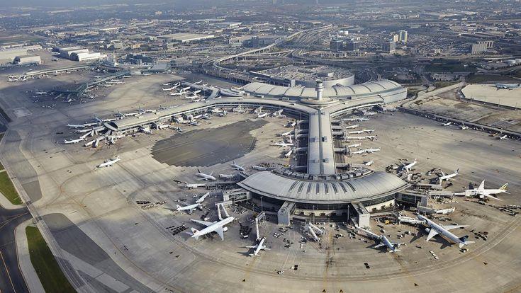 Toronto Pearson International Airport, busiest of the world #Toronto #Airport