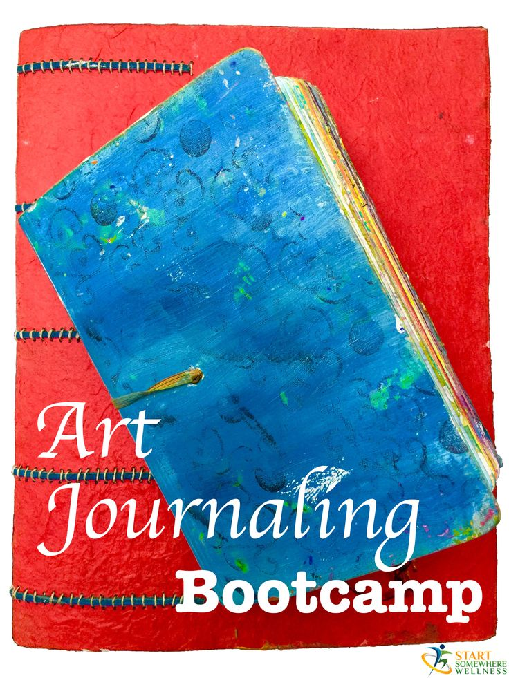 6-part Art Journaling Bootcamp video series by Dr. Deborah Ozment. Everything you need to know to start Art Journaling today.
