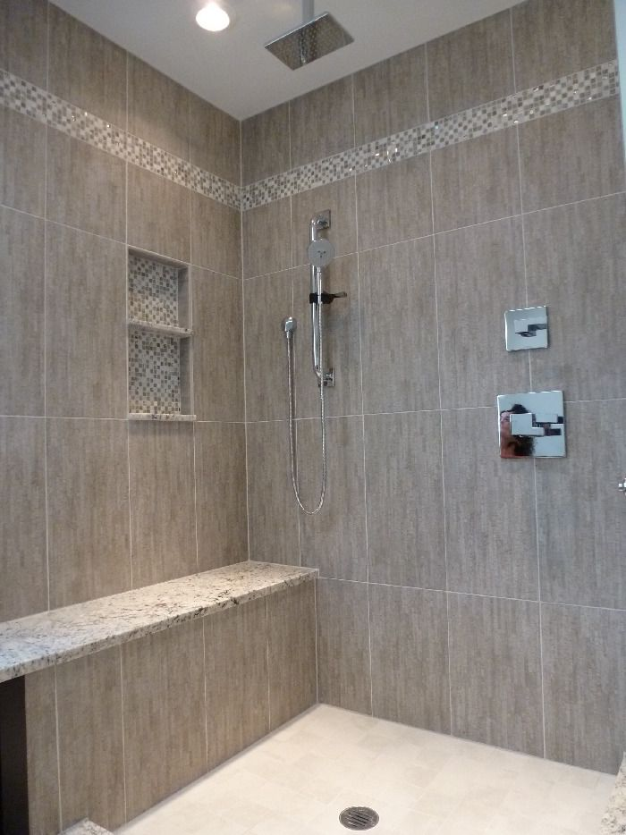 Master Bathroom Shower design idea as seen on www.interiordesignpro.org   Interior design by Kristine Robinson