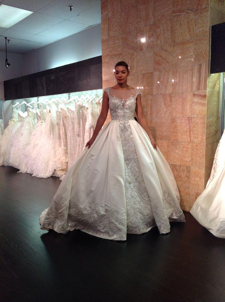 White And Gold Wedding Ysa Makino New York Bridal Market