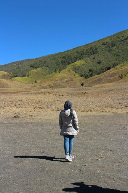 Teletubies hill, Bromo mt west java indonesia