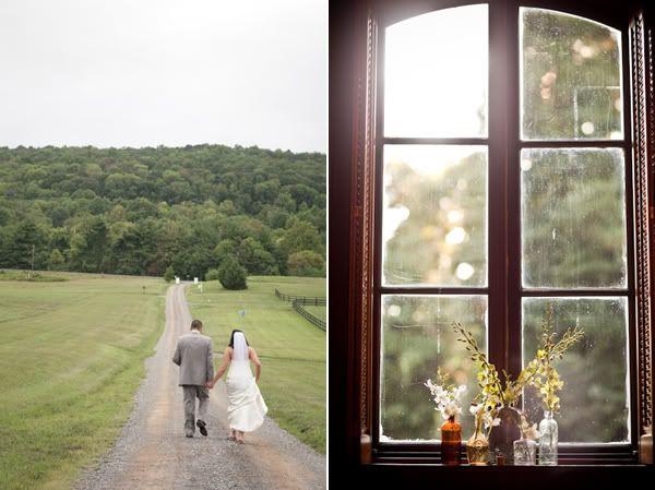 Countryside couple