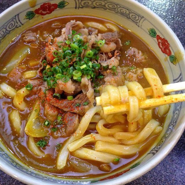 #udon #kagawa #japon - 41件のもぐもぐ - 牛しゃぶカレーうどん by maixx ใหม่
